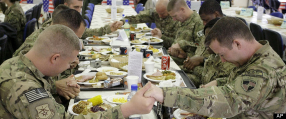 Us Troops Thanksgiving Afghanistan