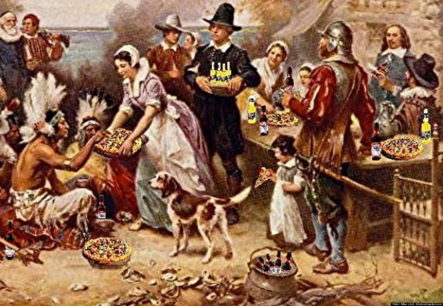 Top 10 Myths About Thanksgiving