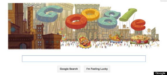 happy thanksgiving google