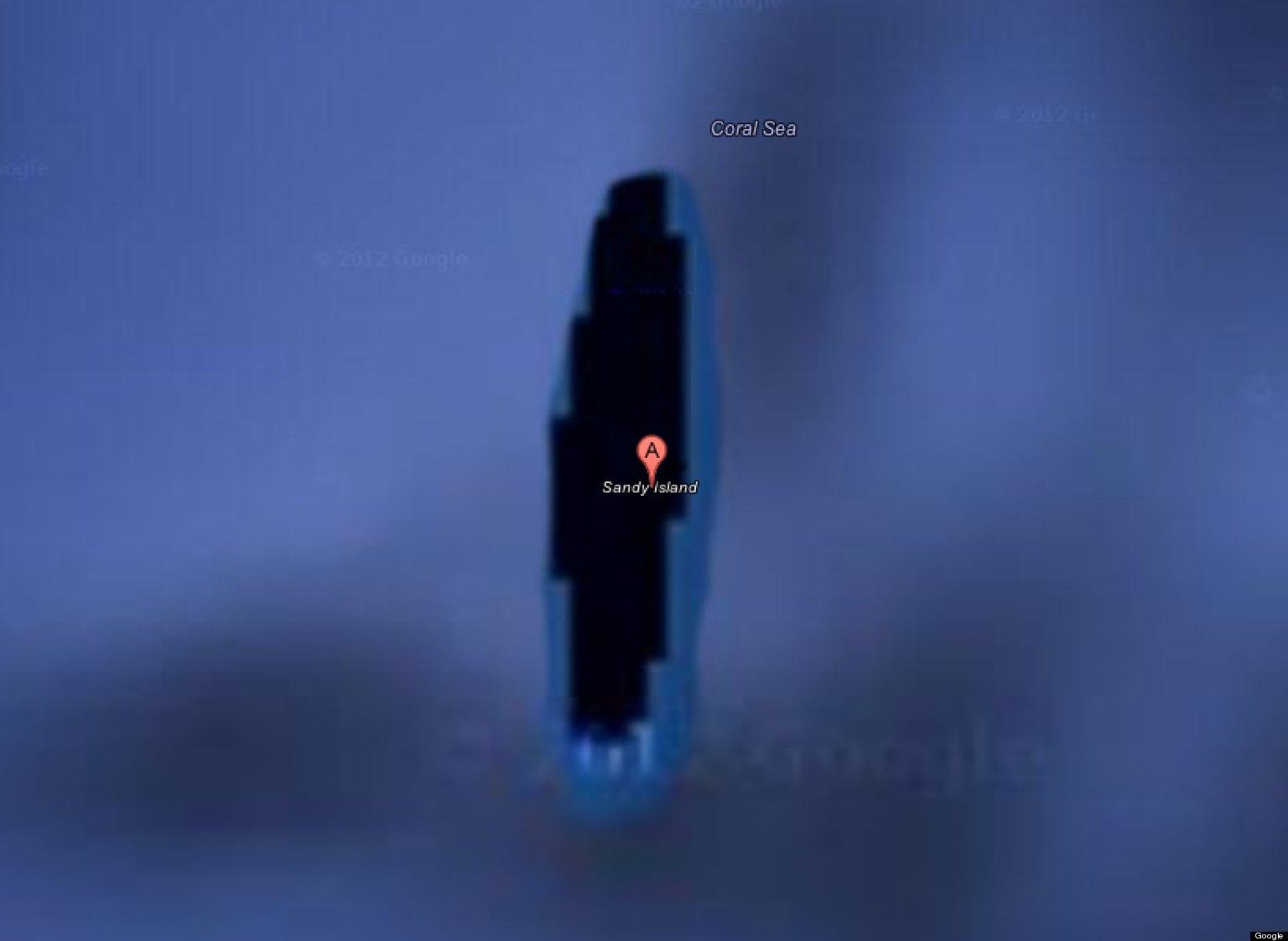 Mysterious Island Google Maps