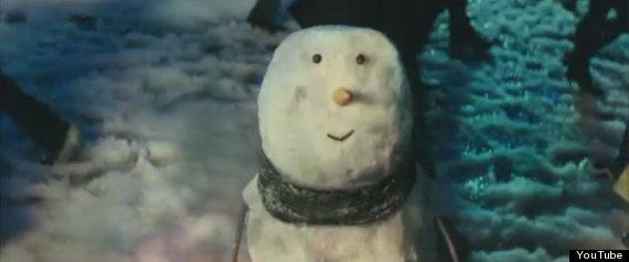 john lewis christmas snowman