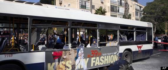 TEL AVIV BUS BOMBER ARRESTED