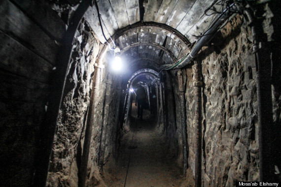 egypt tunnel gaza strip israel smuggle