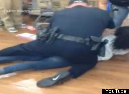 Black Friday Arrest On Camera