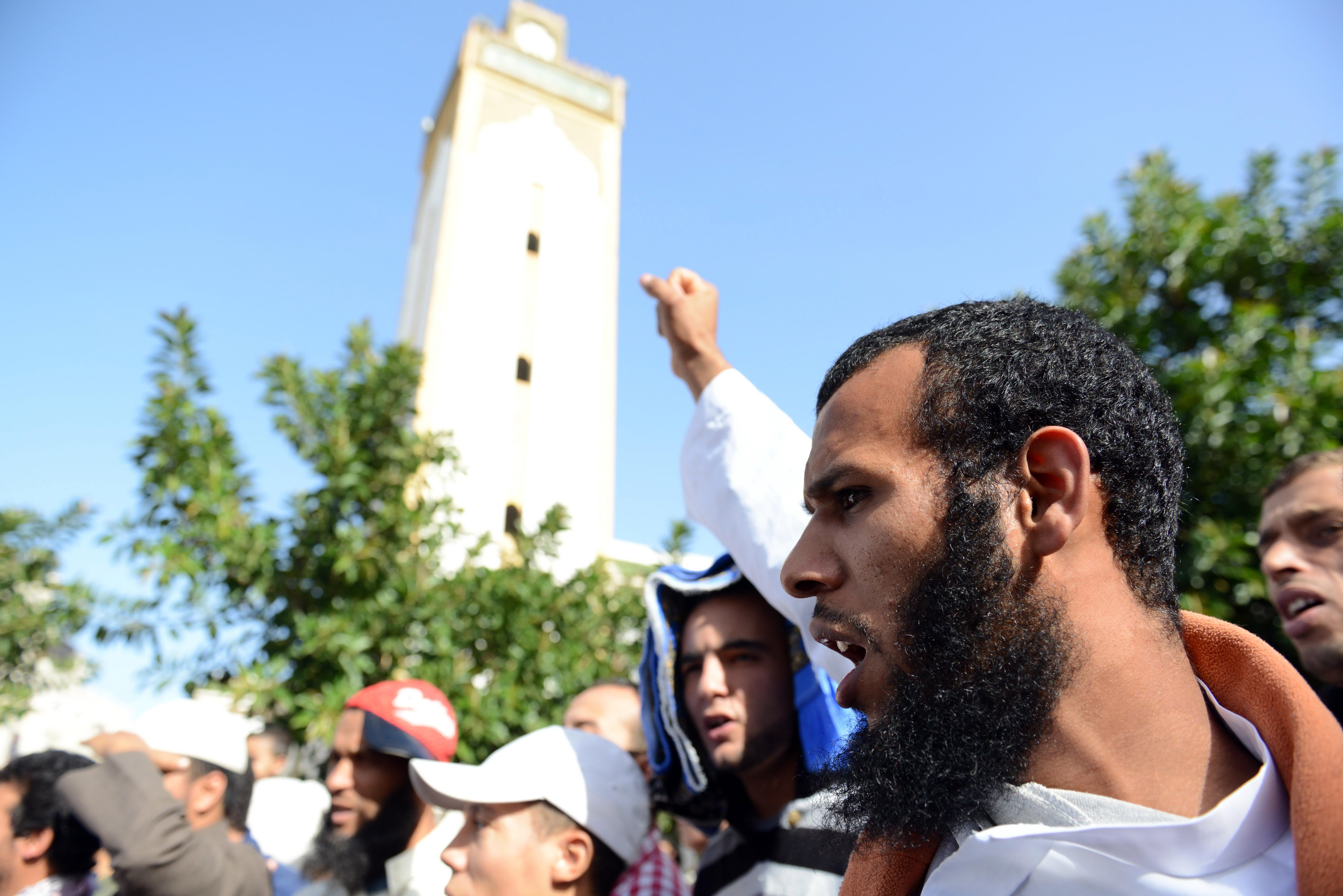 manifestation salafistes maroc 1