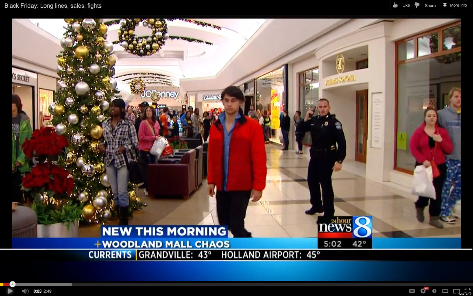 Black Friday Gang Fight At Woodland Mall Leads To Chaos