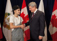 Justin Bieber Awarded Diamond Jubilee Medal By Stephen Harper (PHOTO, TWEETS)