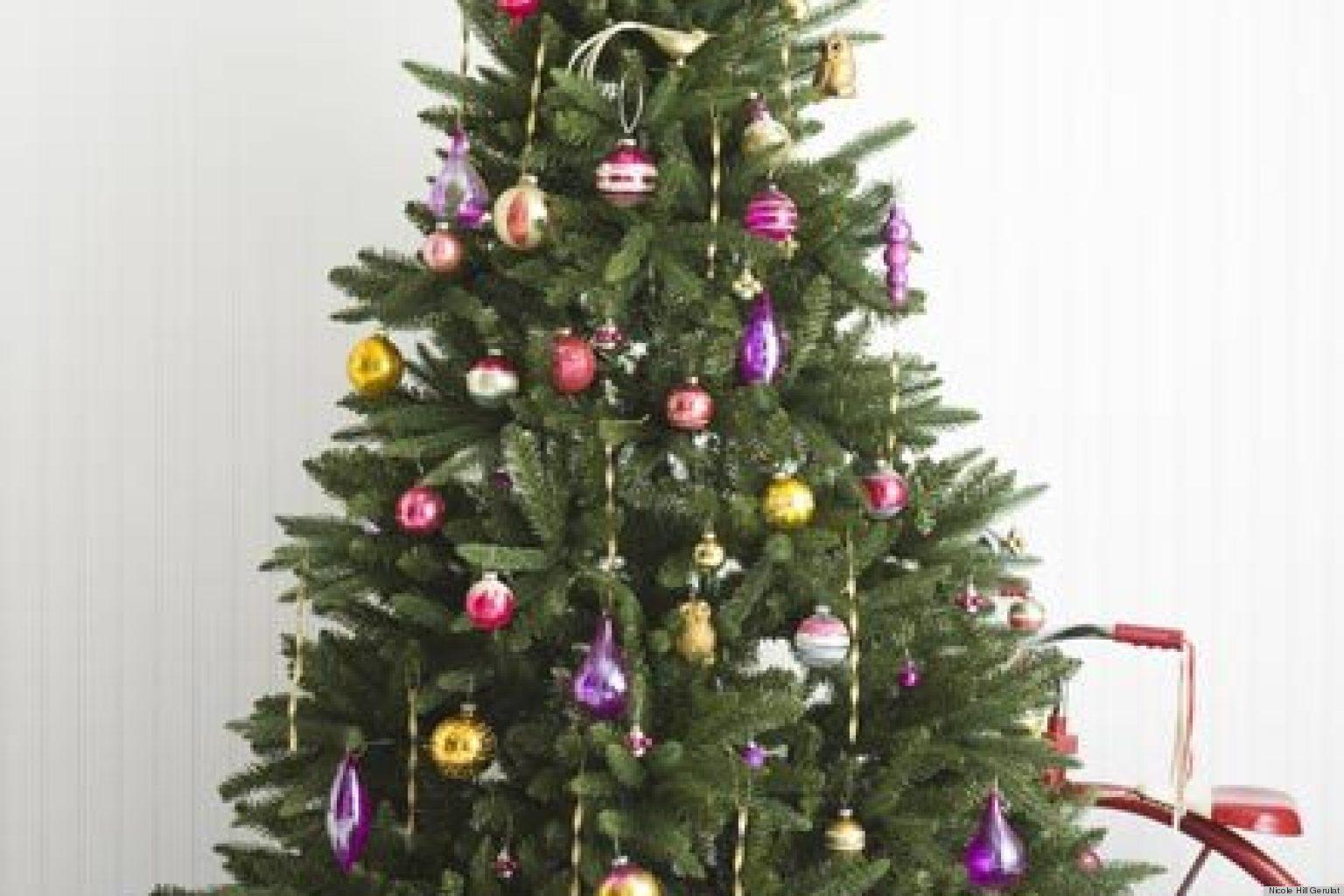 O CHRISTMAS TREE DECORATING IDEAS