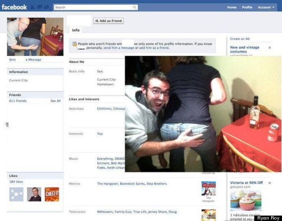 Ryan Roy Facebook Prank: Adds Friends With Same Name