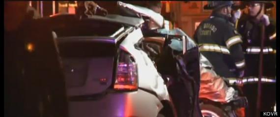 4 DEAD CAR CRASH