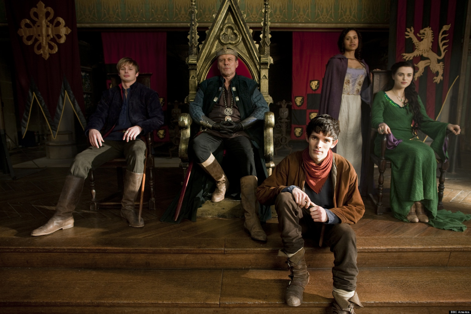 Merlin Canceled Bbc One Series To End After Season 5