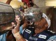 Grey Cup 2012: Toronto Argonauts Break Trophy During Post-Game Celebration