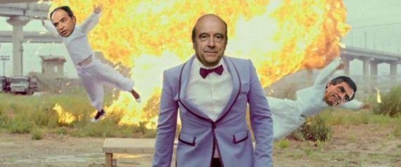 A l'UMP avec Nicolas Sarkozy  Kra kra kra : site d'humour Blagues vidéos et