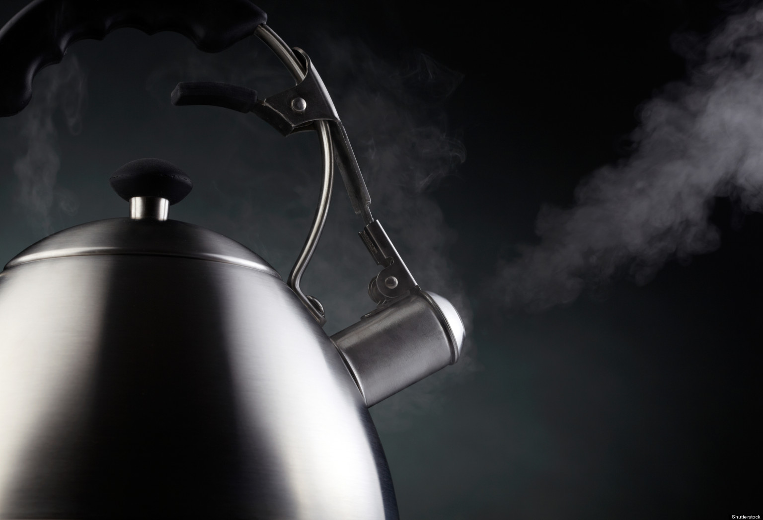 Boiling Water Steam Pop the Kettle On ...I...