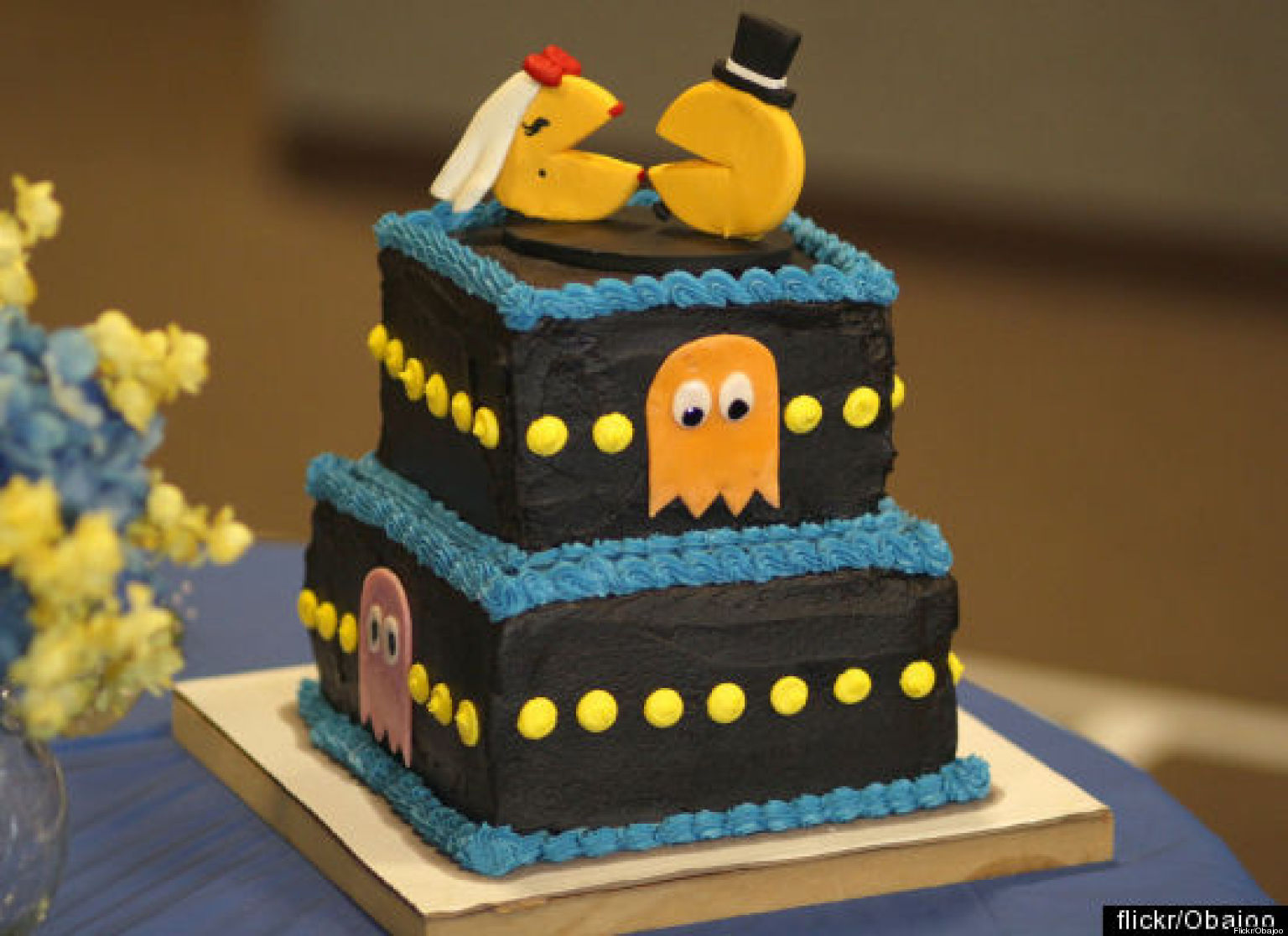 The Geekiest Wedding Cakes EVER PHOTOS