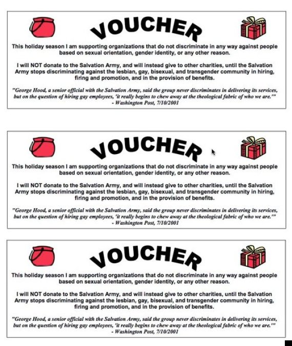 salvation army voucher