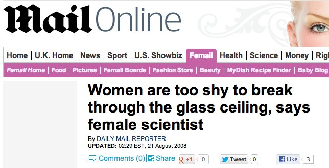 Daily Mail' Greatest Hits: 14 Absurd Headlines About Women