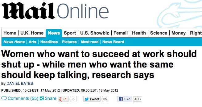 news sexism