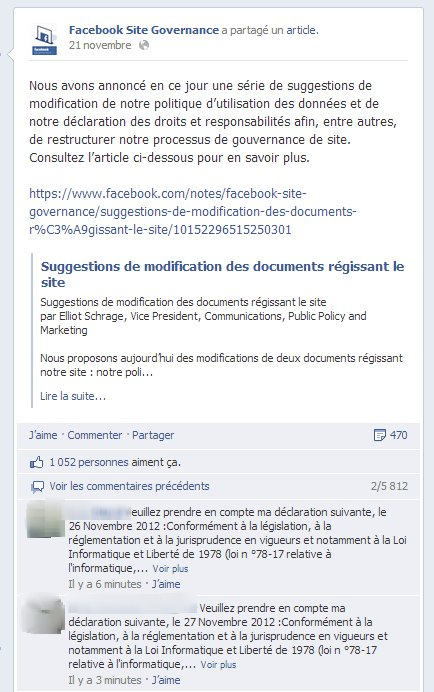 facebook site gov