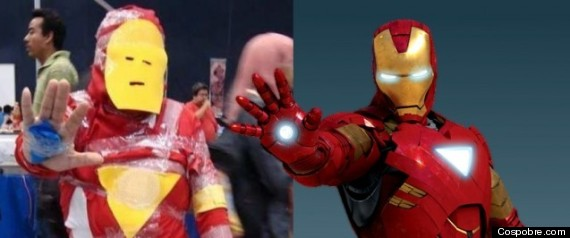BAD IRON MAN COSTUME