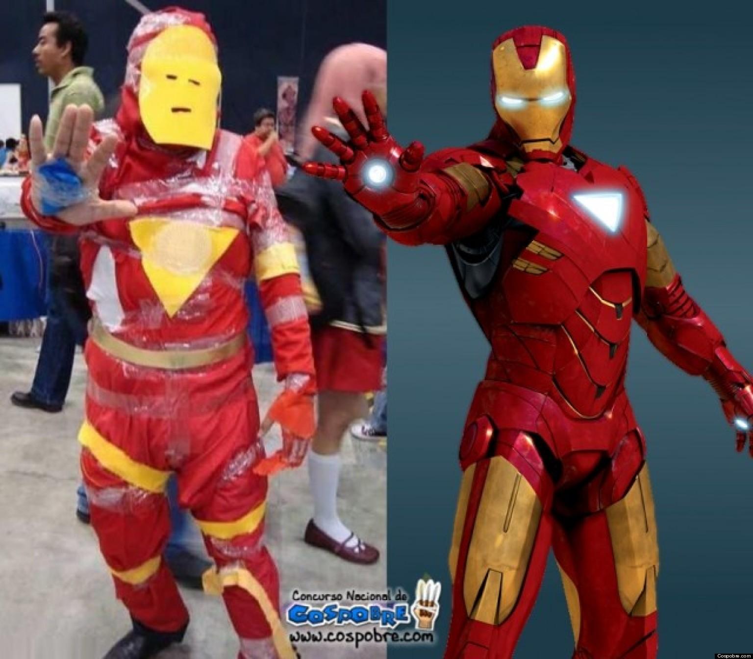 Как сделать костюм супергероев своими руками
