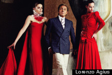 Valentino Discusses Muses and Memories in London