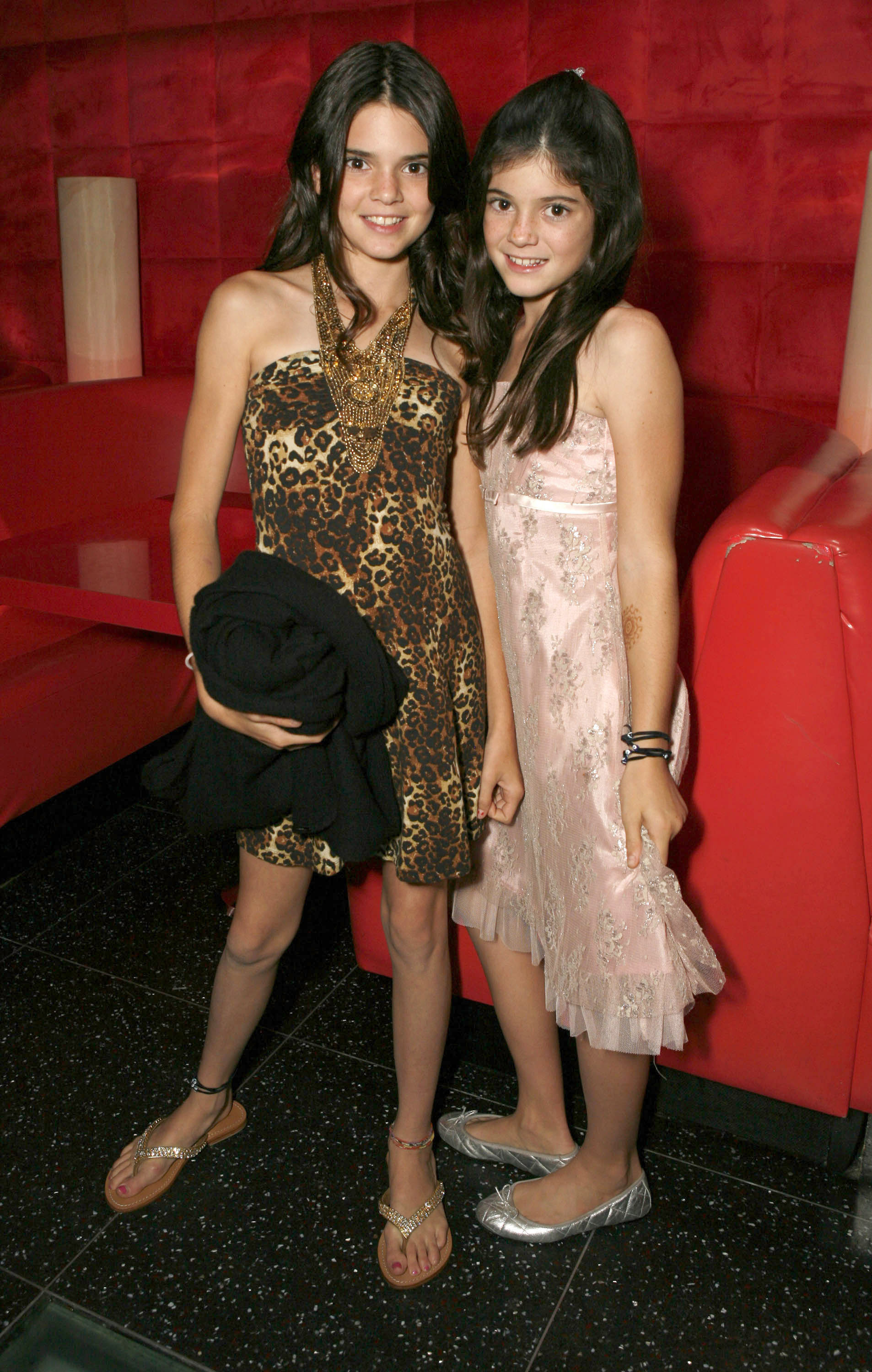 kendall and kylie jenner when they were just the. Black Bedroom Furniture Sets. Home Design Ideas