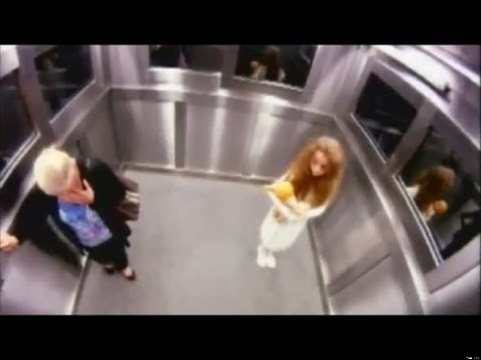 Funny Pranks: Ghost Elevator Prank: Funny Or Terrifying? (VIDEO