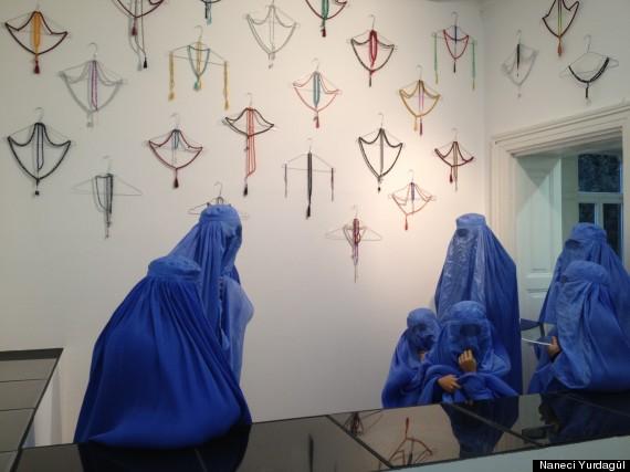 burqa art exhibition