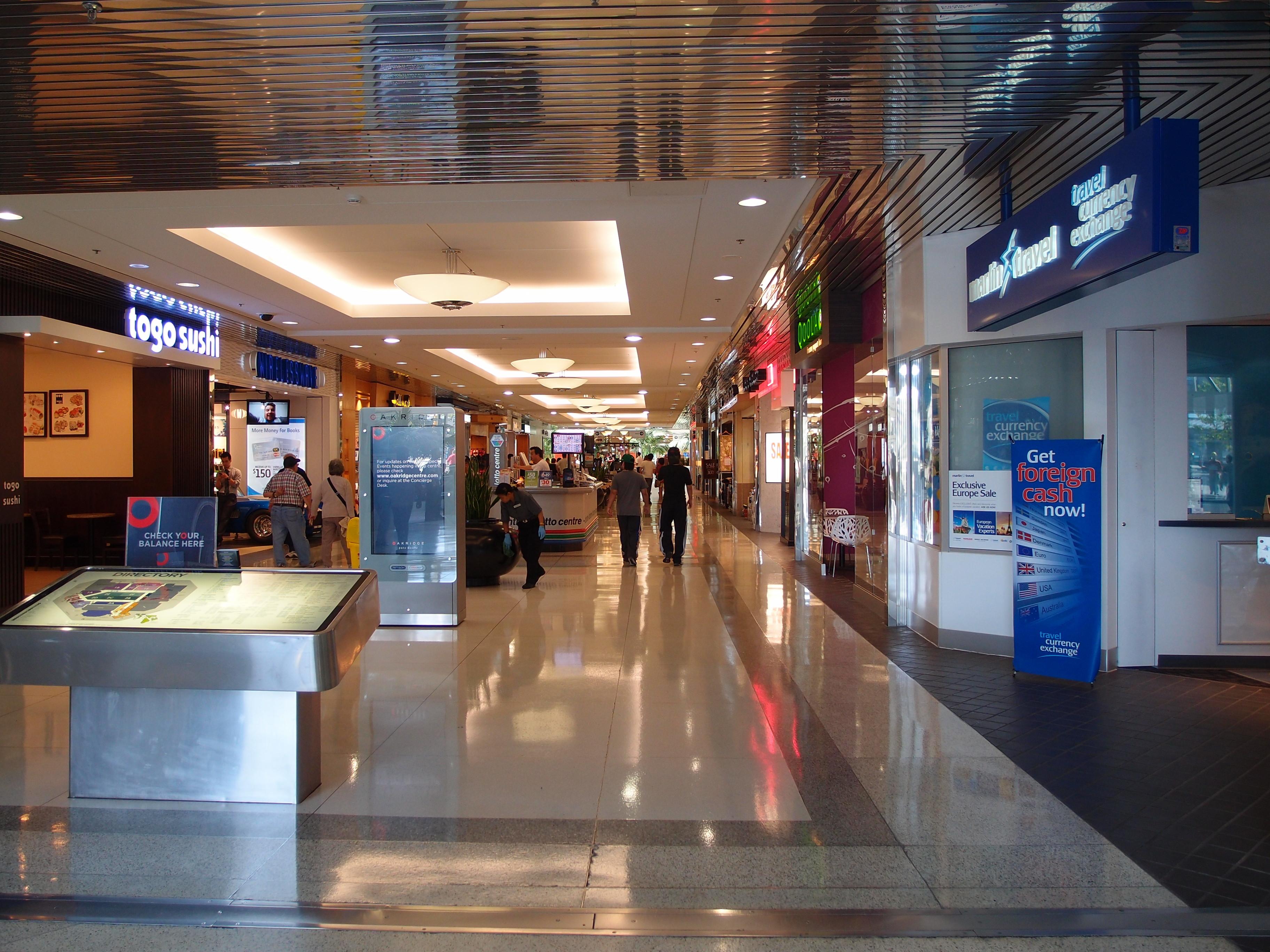 oakridge centre mall