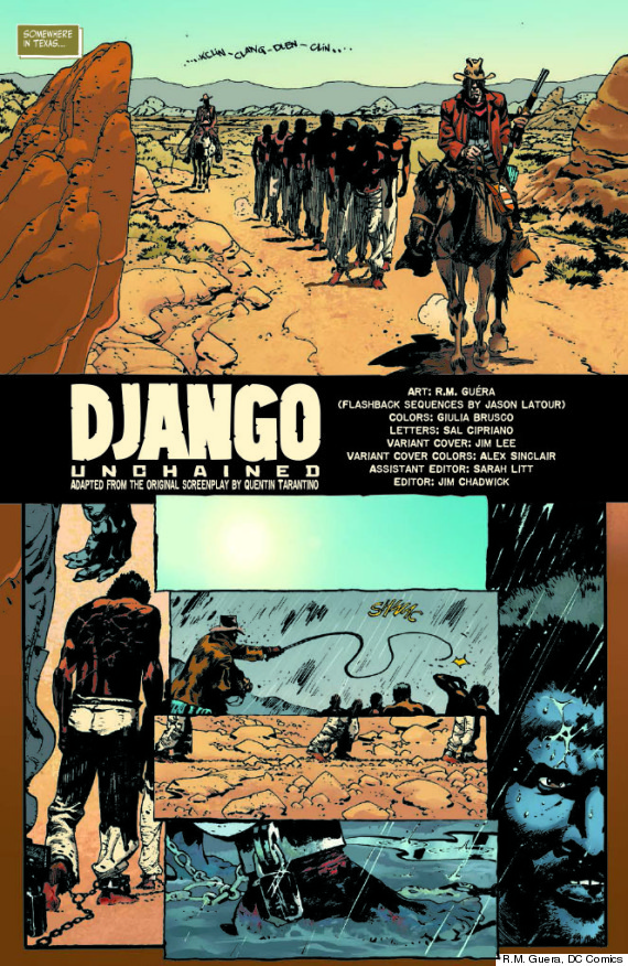 django comic book