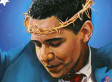 Barack Obama Depicted As Jesus: 'The Truth' Painting Draws Criticism For Controversial Metaphor (PHOTO)