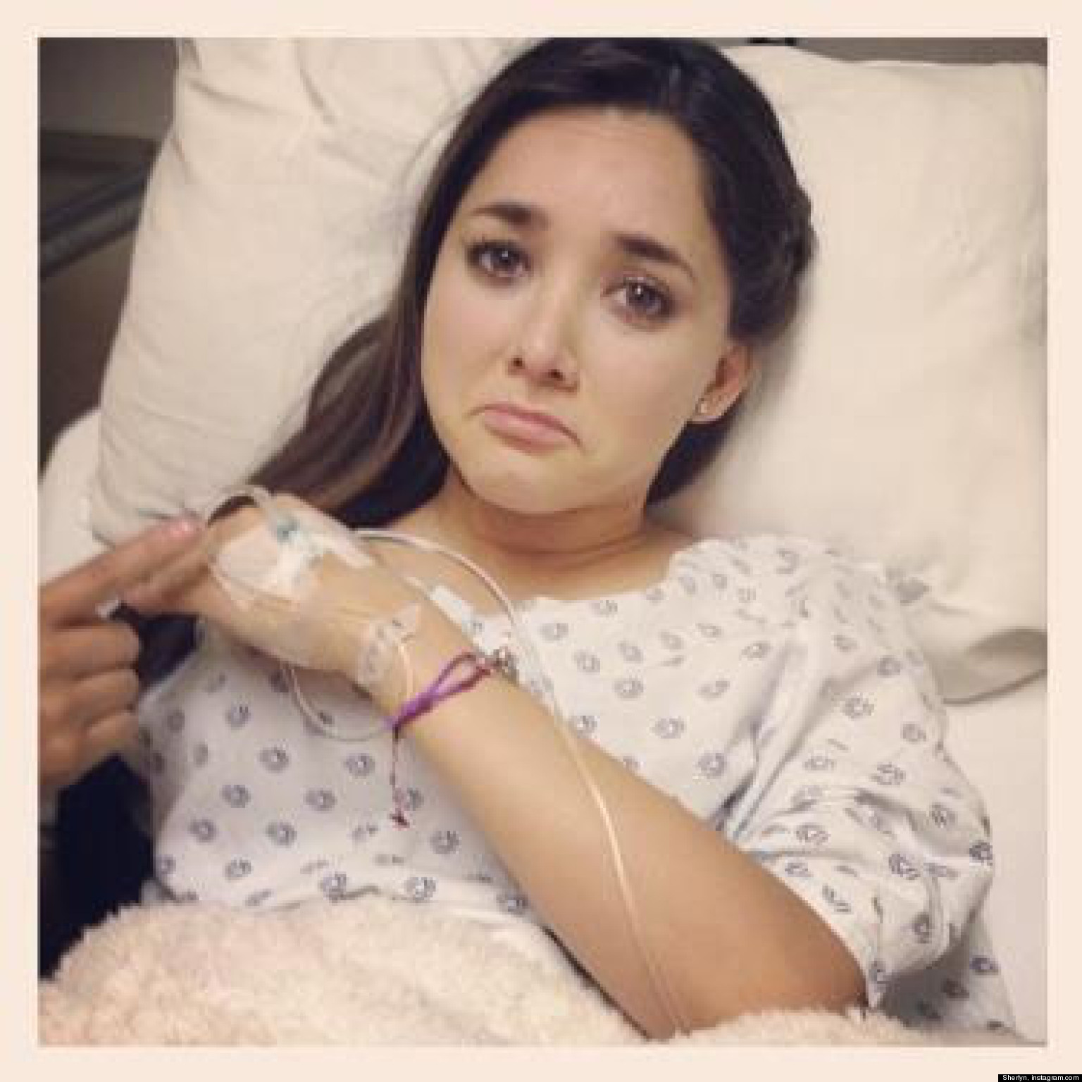 Sherlyn tuvo que ser hospitalizada | HuffPost