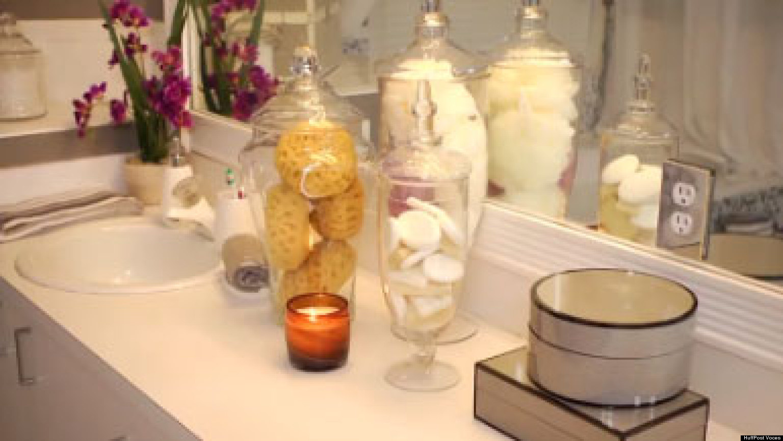 Mar y mar hacer hogar - Como decorar un cuarto de bano ...