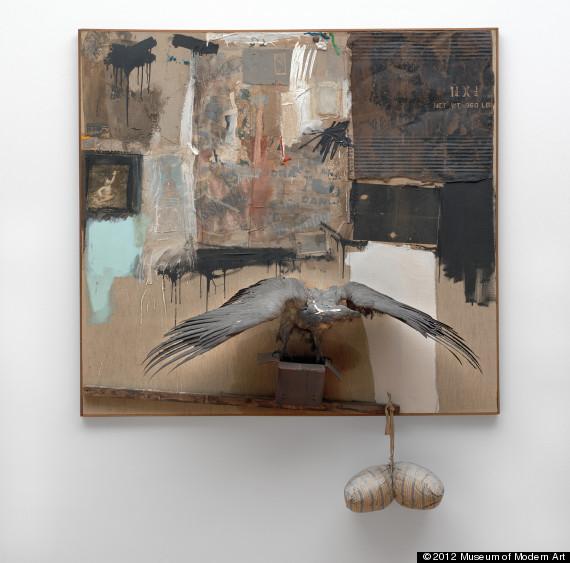 Robert Rauschenberg's 'Canyon' Donated To MoMA (PHOTO ...