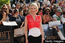 Cate Blanchett Goes Bold In Berardi For The Hobbit World Premiere