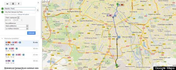 google transports