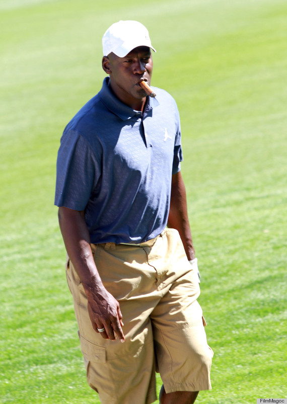 Michael Jordan's Cargo Shorts Get Him In Trouble At Golf ...