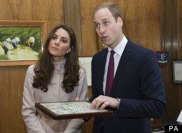 William And Kate 'Humbled' At Cambridge University