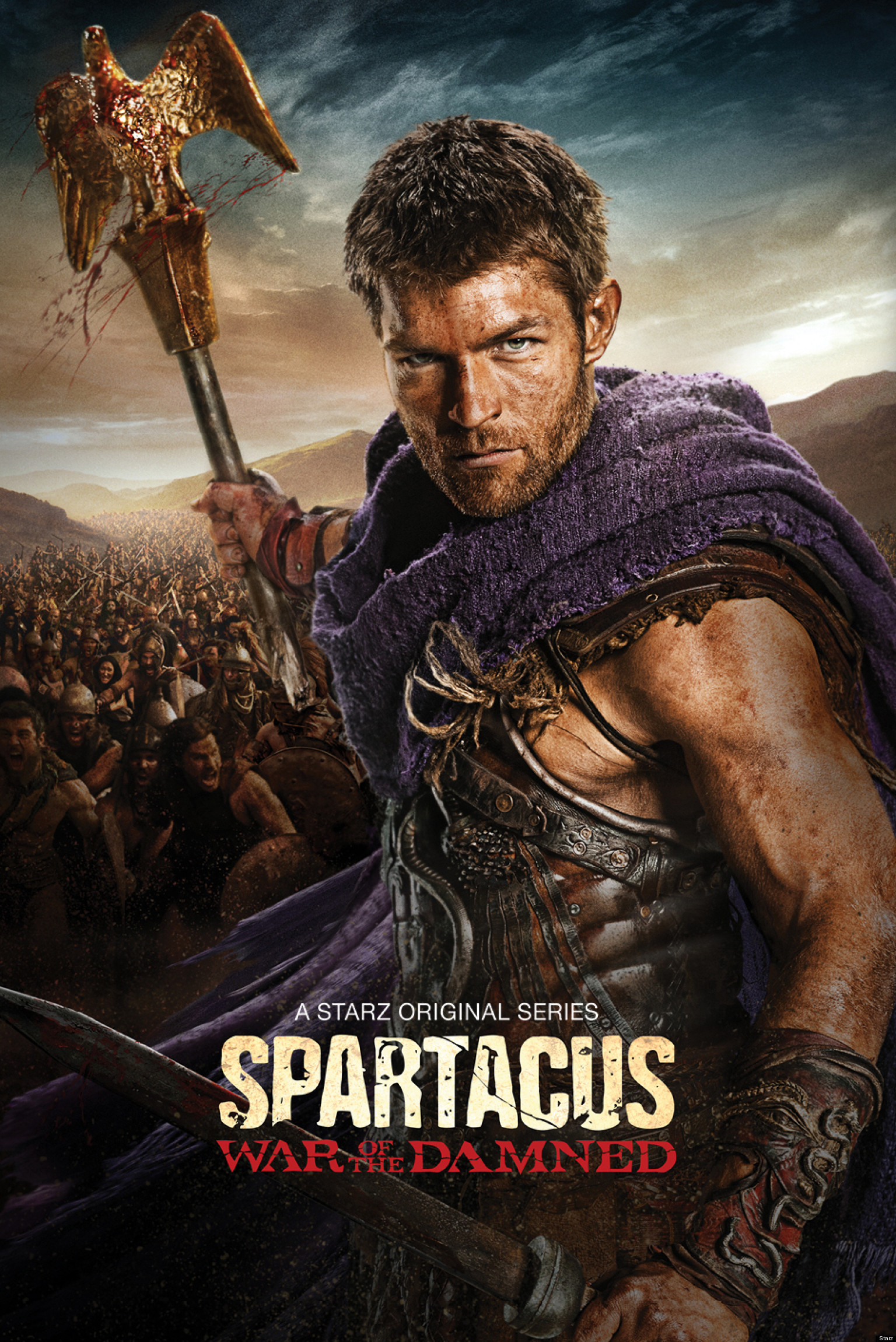 'Spartacus: War Of The Damned' Final Season Trailer: War ...