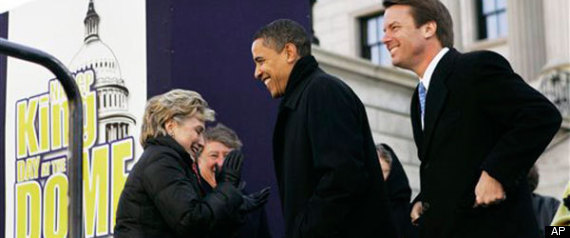 Clinton, Obama Engage in Bitter Debate