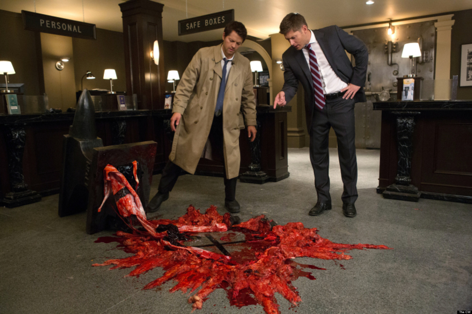 supernatural season 8 episode 8 hunteri heroici cucirca