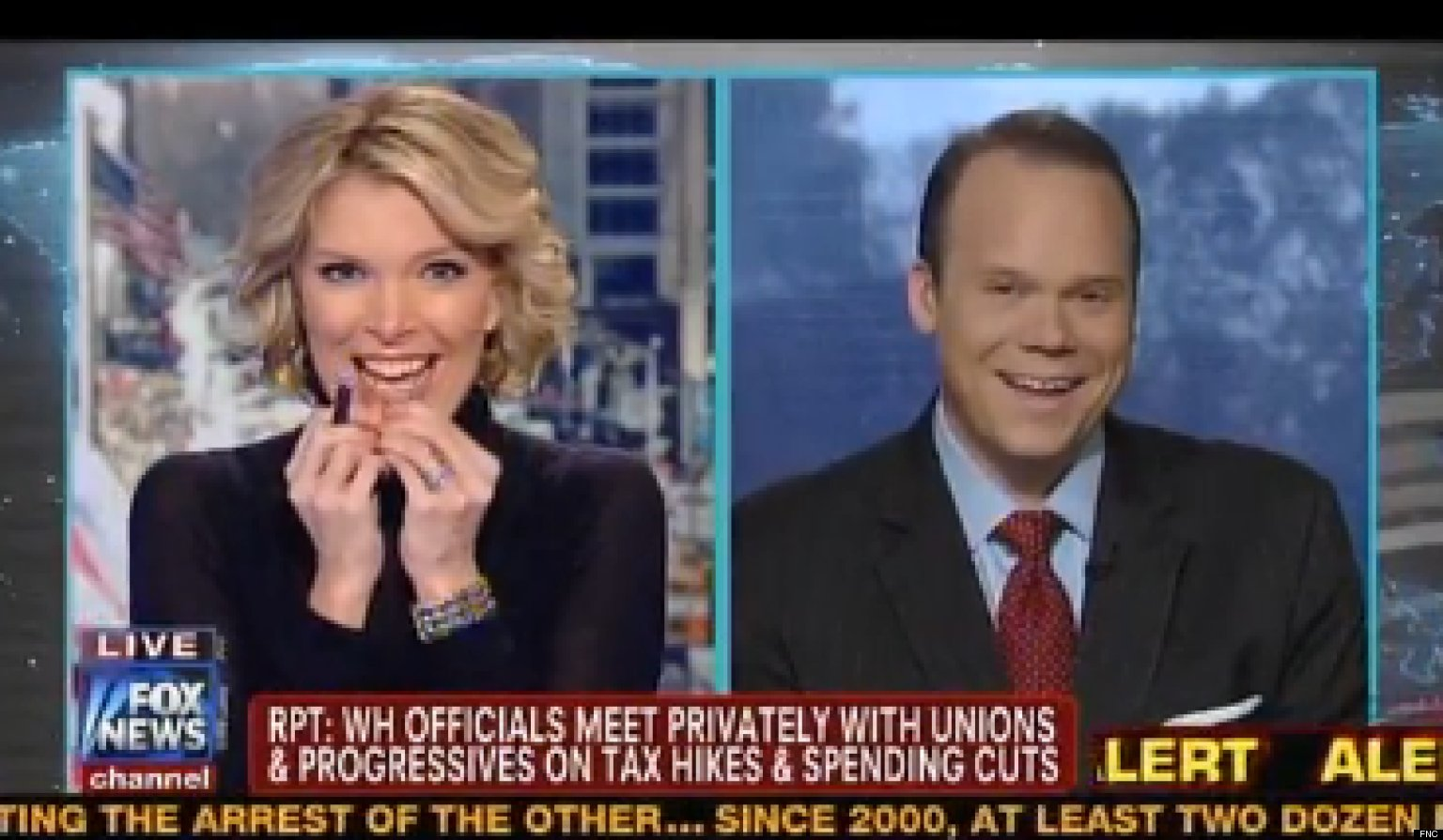 Megyn Kelly Incredibly Amused By New Fox News Graphic (VIDEO): www.huffingtonpost.com/2012/11/29/megyn-kelly-amused-fox-news...