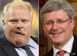 Rob Ford Harper Conservatives