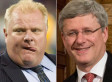 Rob Ford And Harper's Conservatives Still Allies Despite Mayor's Ouster