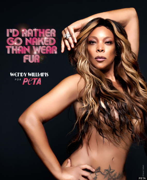 Wendy Williams Nude In Peta Ad Nsfw S
