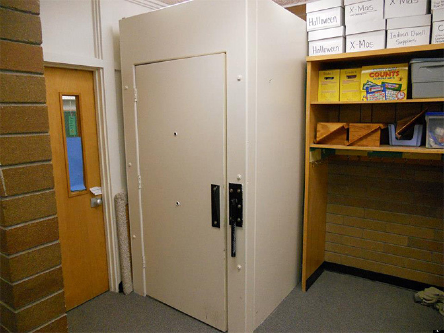 Isolation Booth At Mint Valley Elementary School Has