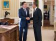 Obama Romney Lunch Photo: President, Former Challenger Dine At White House