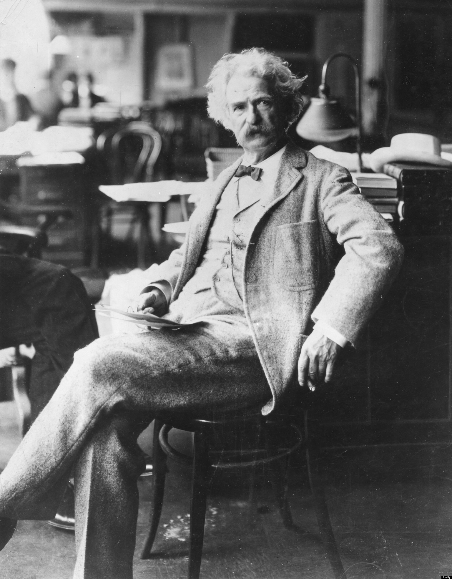 9 Amazing Photos Of Mark Twain | HuffPost Mark Twain