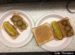 We Actually Liked A Peanut Butter And Pickle Sandwich